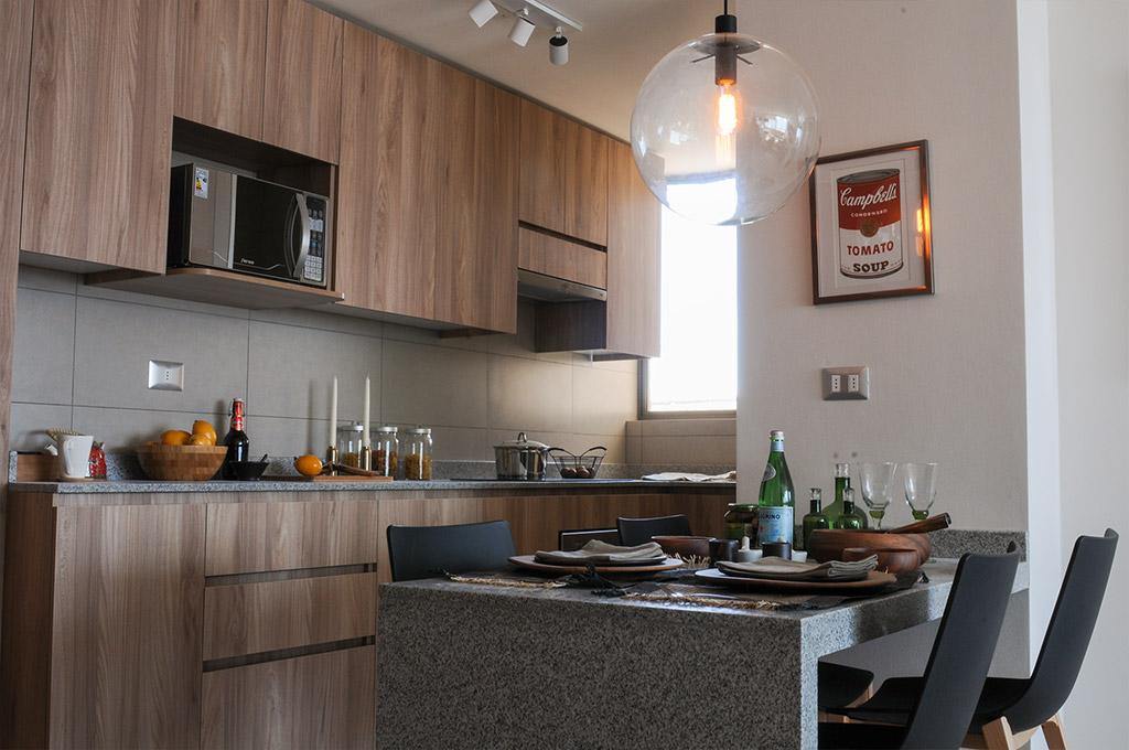 Departamentos en calama edificio terrazas del loa for Cocina departamento